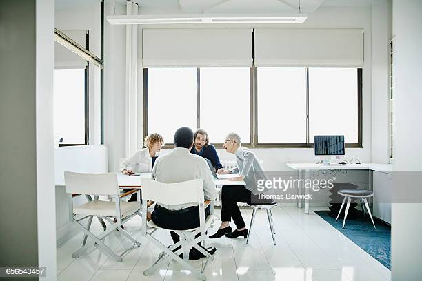 Group of businesspeople in planning meeting