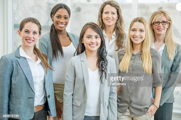 Group of Businesswoman