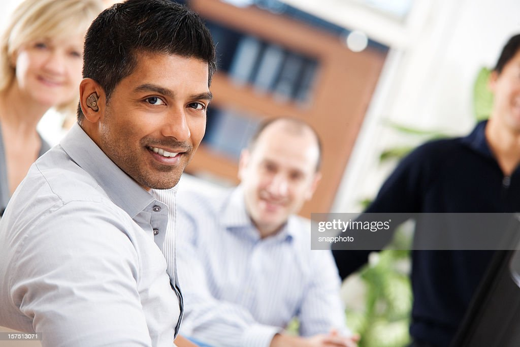 Group of Casual Business People : Stock Photo