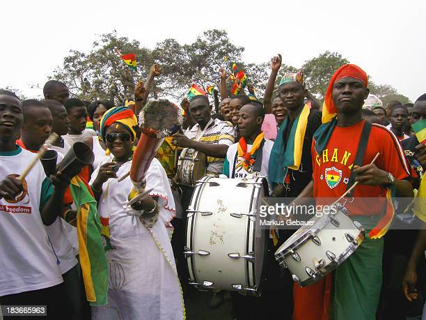 CONTENT] Group of celebrating people during the 50 years independence celebration in Accra Ghana West Africa on March 06 2007