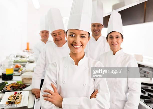 Gruppe der Köche