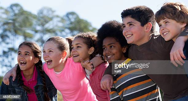 group of childen - children only stock pictures, royalty-free photos & images