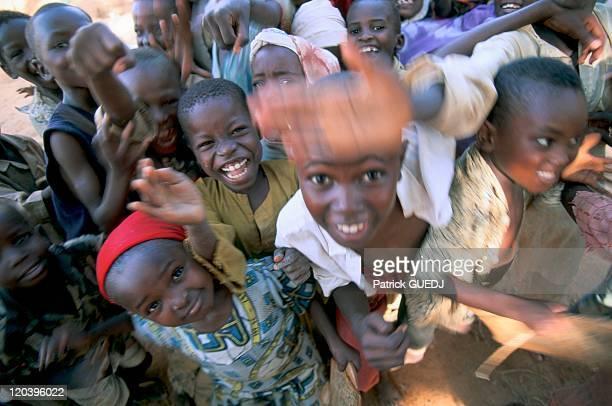 Group Of Children In Zinder Niger