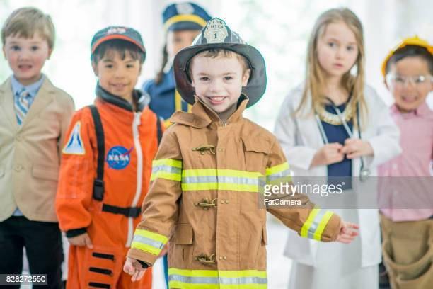 group of children - adult imitation stock pictures, royalty-free photos & images