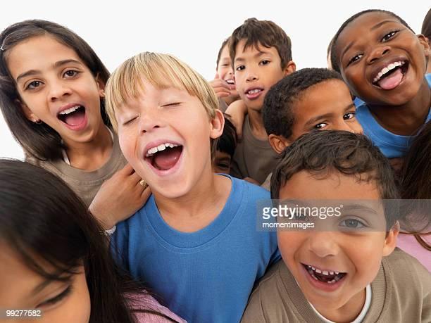 group of children - 人種や民族 ストックフォトと画像