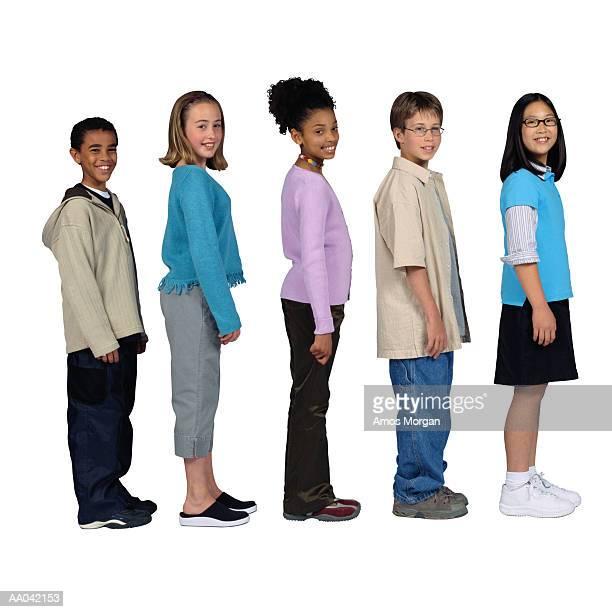group of children - somente crianças imagens e fotografias de stock