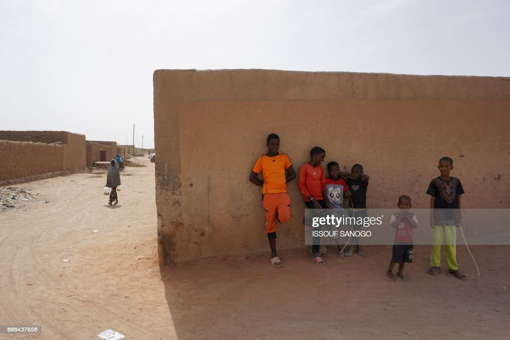 NIGER-LIBYA-EUROPE-MIGRATION : News Photo