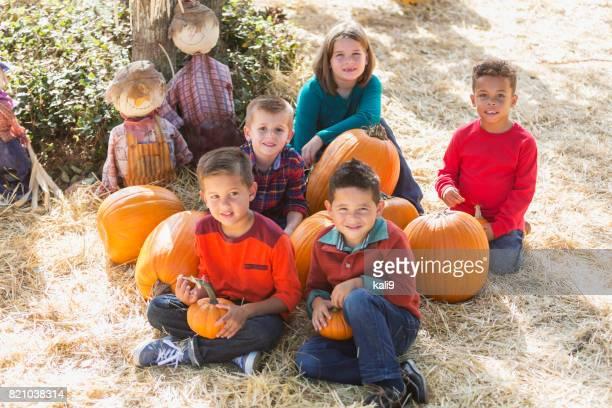 児でのかぼちゃに秋祭り