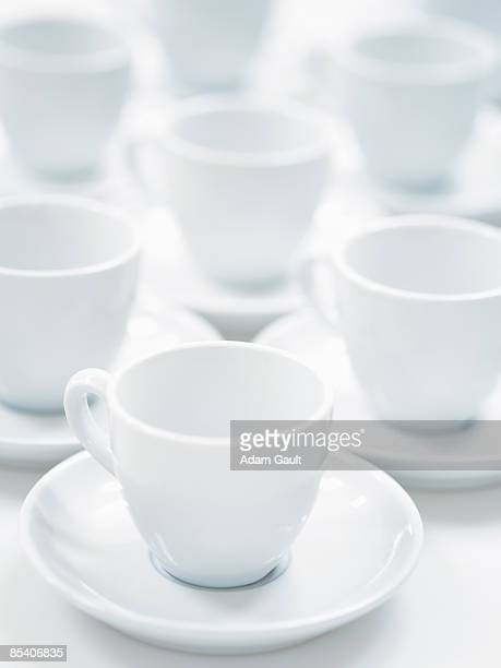 Group of coffee cups