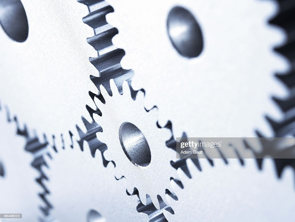 Group of cogs : Stock Photo