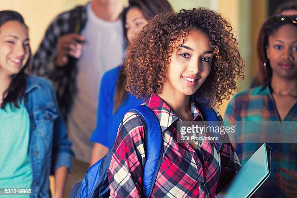 group of college/university students. - beautiful ethiopian girls stock photos and pictures