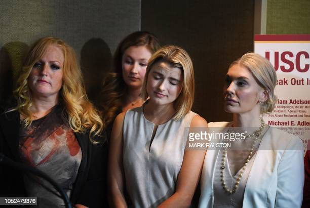 A group of current and former USC students who are survivors of alleged sexual assault by gynecologist Dr George Tyndall from the USC student health...