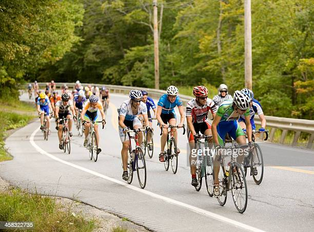 group of cyclists - sponsorship stock pictures, royalty-free photos & images