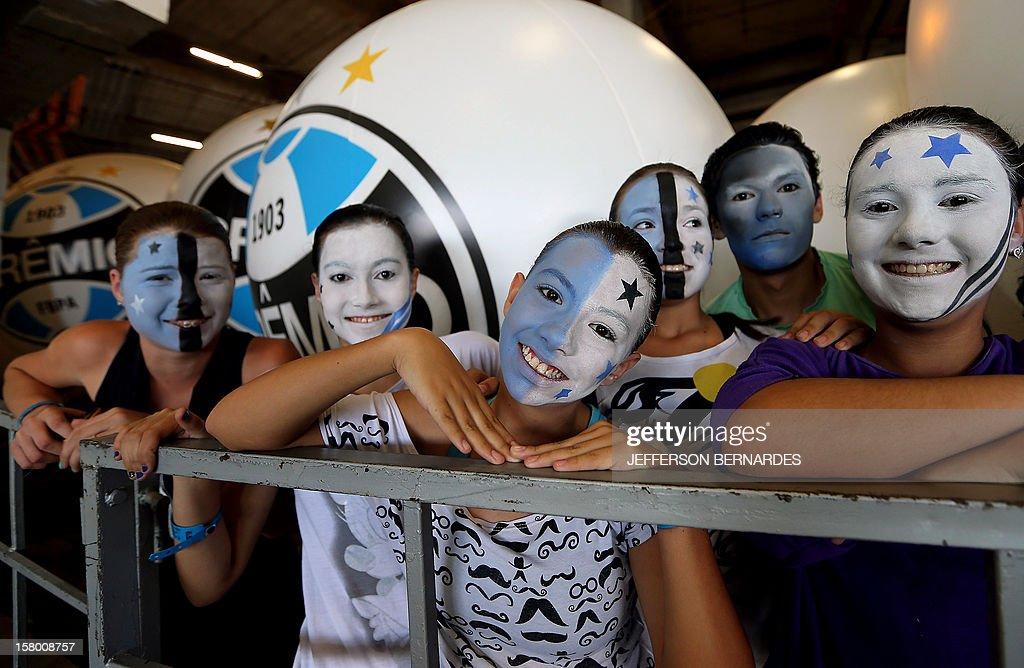 FBL-BRAZIL-STADIUM-ARENA-GREMIO-HAMBURGO : News Photo