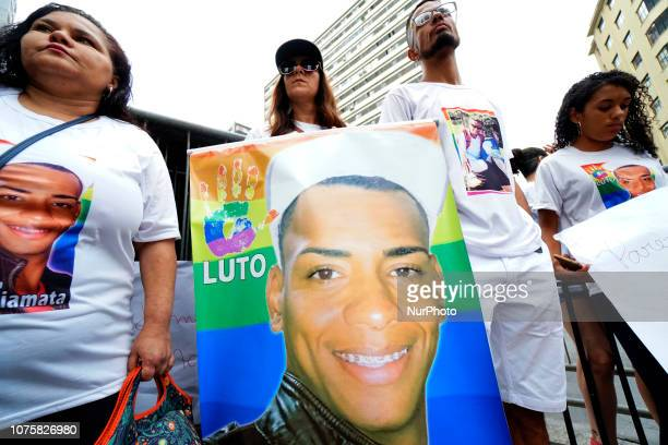 A group of demonstrators gathered on December 29 2018 on Avenida Paulista in an act honoring the 30yearold hairdresser Plínio Henrique de Almeida...