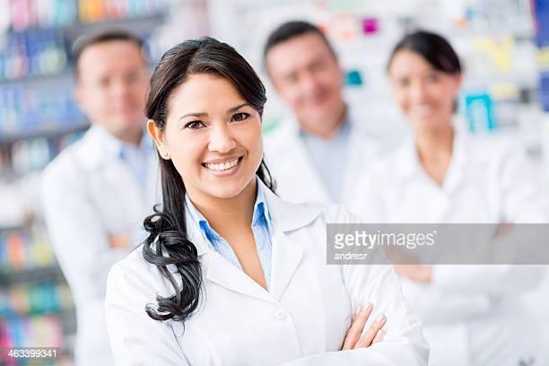 Groupe de médecins en formation