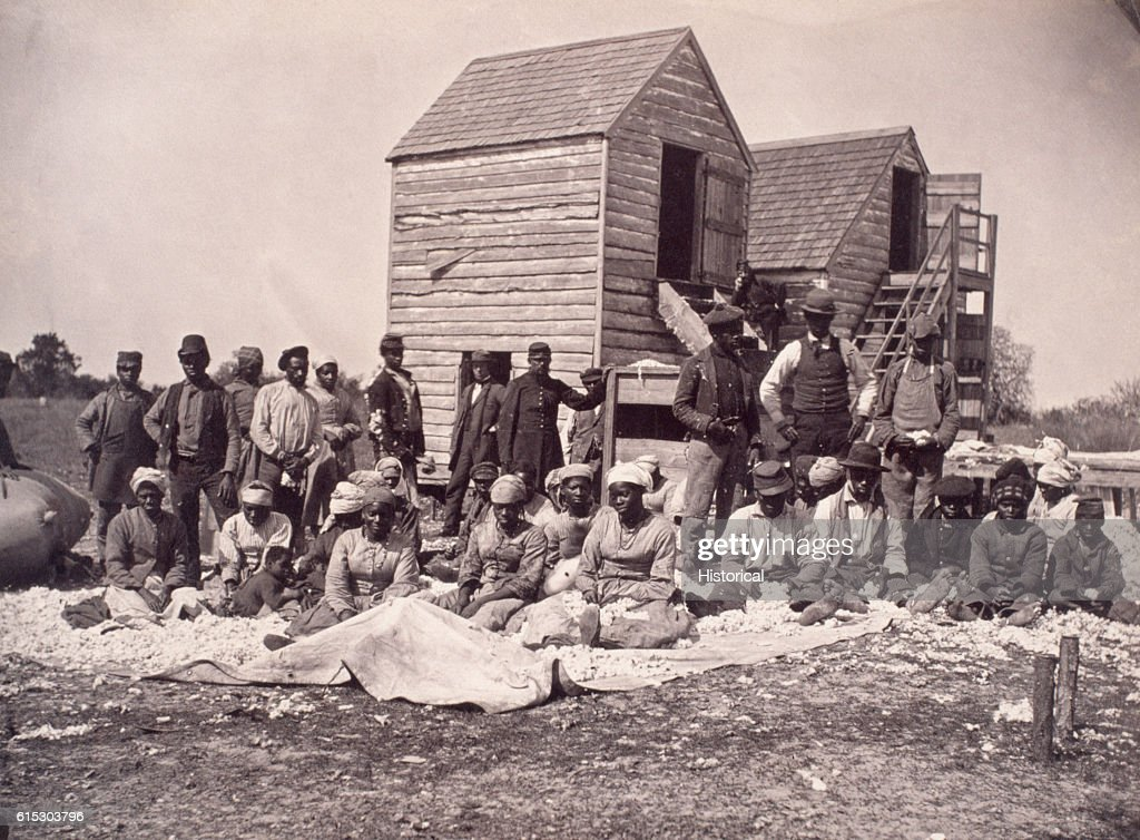 Freed Slaves : News Photo