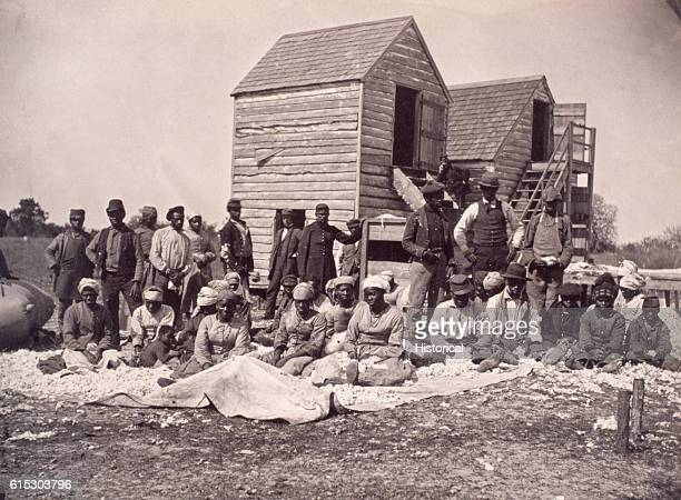 A group of escaped slaves that gathered on the former plantation of Confederate General Thomas Drayton After Federal troops occupied the plantation...