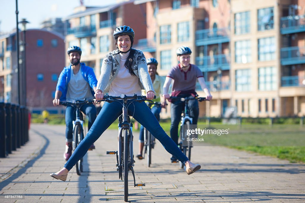 Riding Bikes With Friends