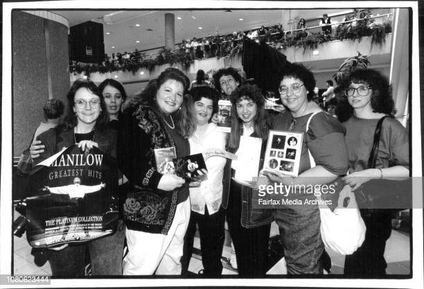 A Group of fans who have traveled from USA to see their IdolL to RTory Paglione Debbie Johanson Mary Rather Rebecca Brooks Kathy Parker Penny...