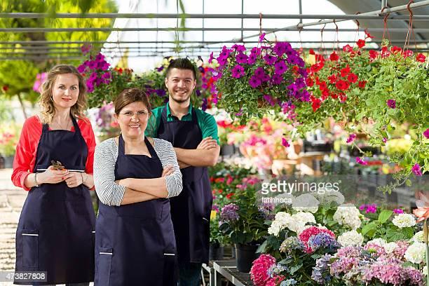 Gruppe von Florist