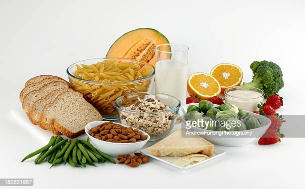 group of food high in fiber