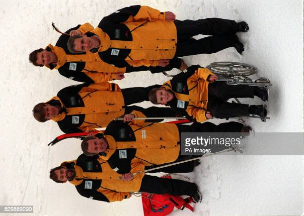 A group of four businessmen and a musician today launched a dangerous charity expedition to the North Pole The team will brave temperatures of minus...