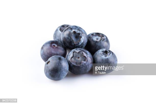 group of fresh juicy blueberries - image stock pictures, royalty-free photos & images