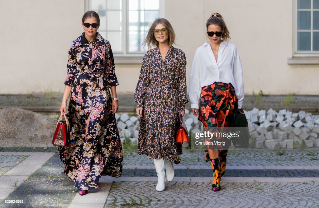 Street Style - Copenhagen Fashion Week Spring/Summer 2018: Day 2 : News Photo