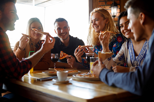 ▷ Happy group student cafe college Images, Pictures and Free Stock Photos