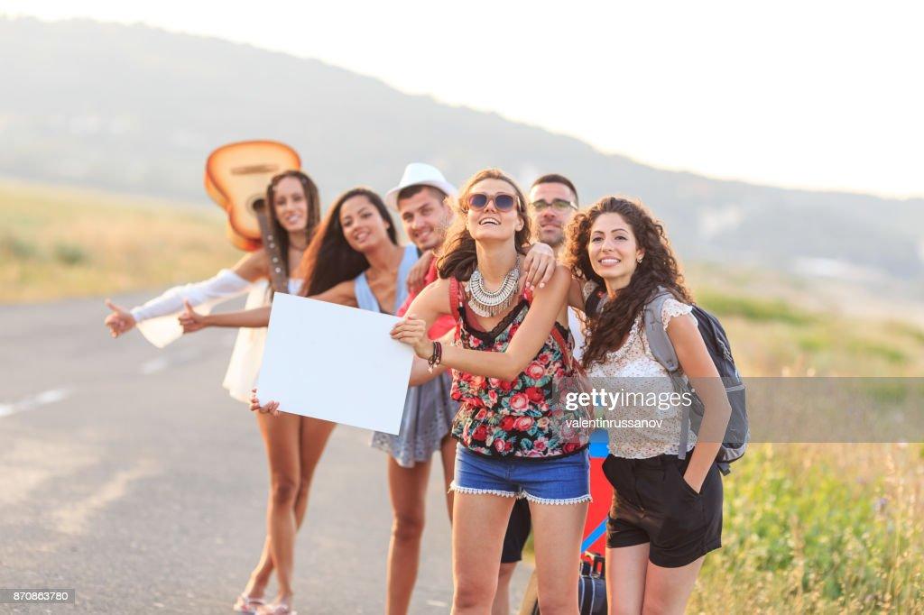 автостоп, туризм