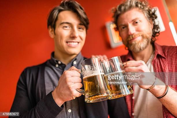 様のご友人との乾杯とお飲物