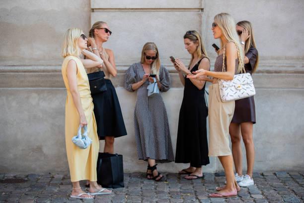 DNK: Street Style - Day 3 - Copenhagen Fashion Week Spring/Summer 2021