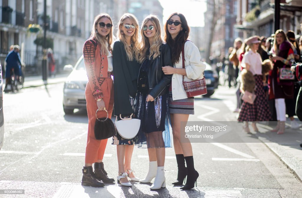 Street Style - LFW February 2018