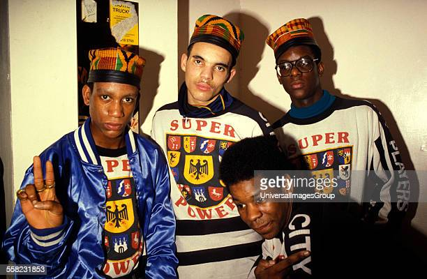 Group of Hip Hop fans UK 1990's