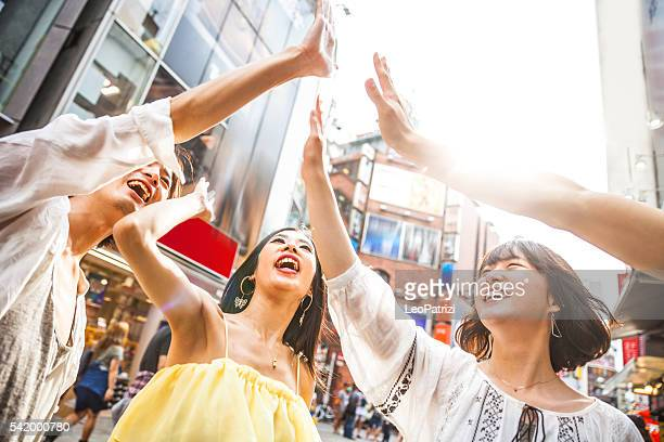 のグループ日本のご友人とのお集まり、東京生活