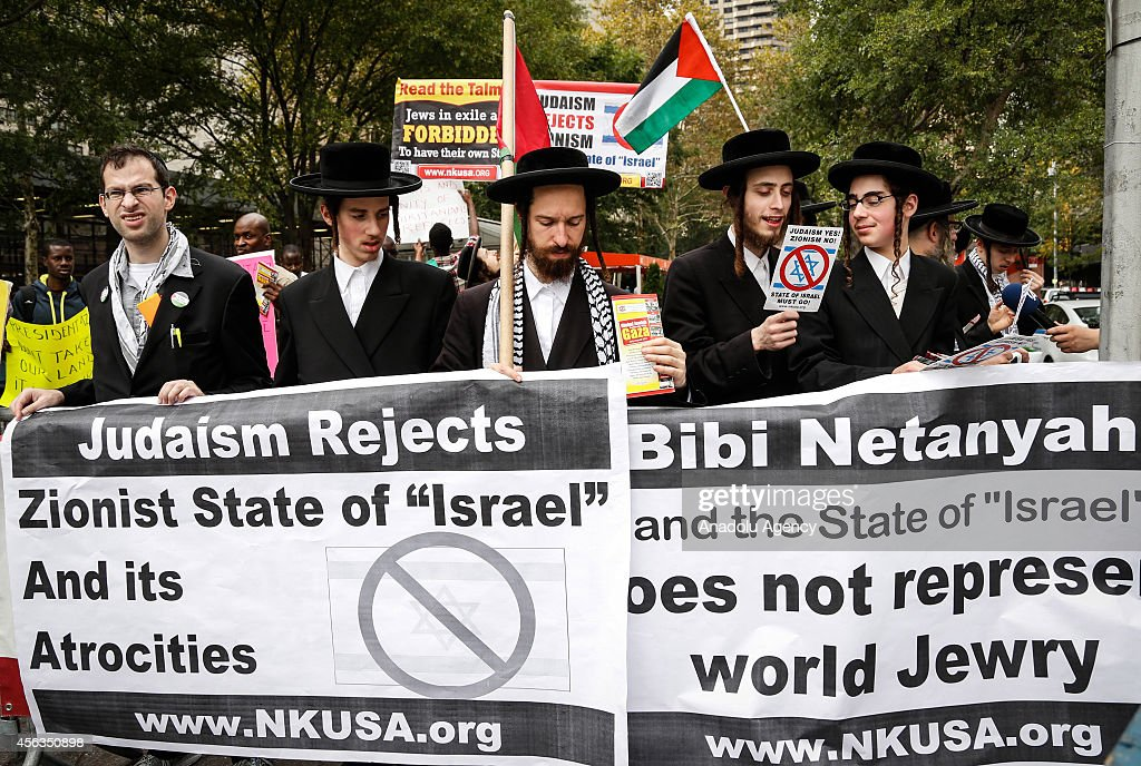Anti-Israel protest in New York : News Photo