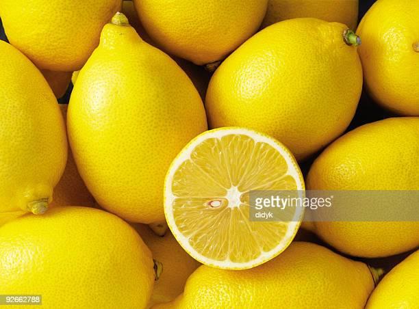Gruppe von Zitronen