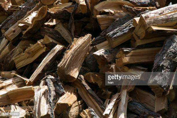 group of logs in woodstore - firewood stock pictures, royalty-free photos & images