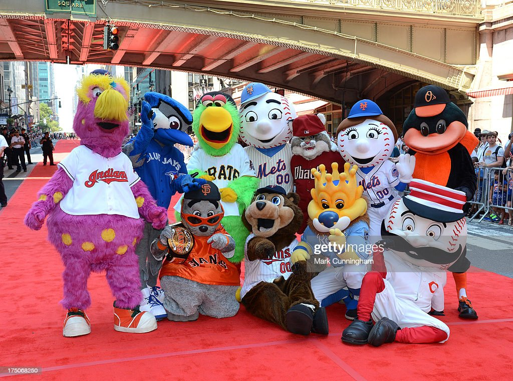 MLB All-Star Game Red Carpet Show Presented by Chevrolet : News Photo