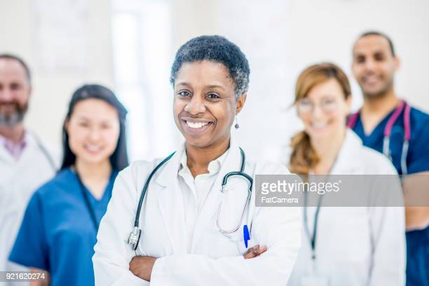 group of medical professionals - sports team event stock photos and pictures