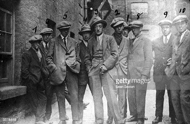 A group of men in Dublin The photograph claims to depict the Cairo Gang a group of British Intelligence operatives active in Dublin Several of them...