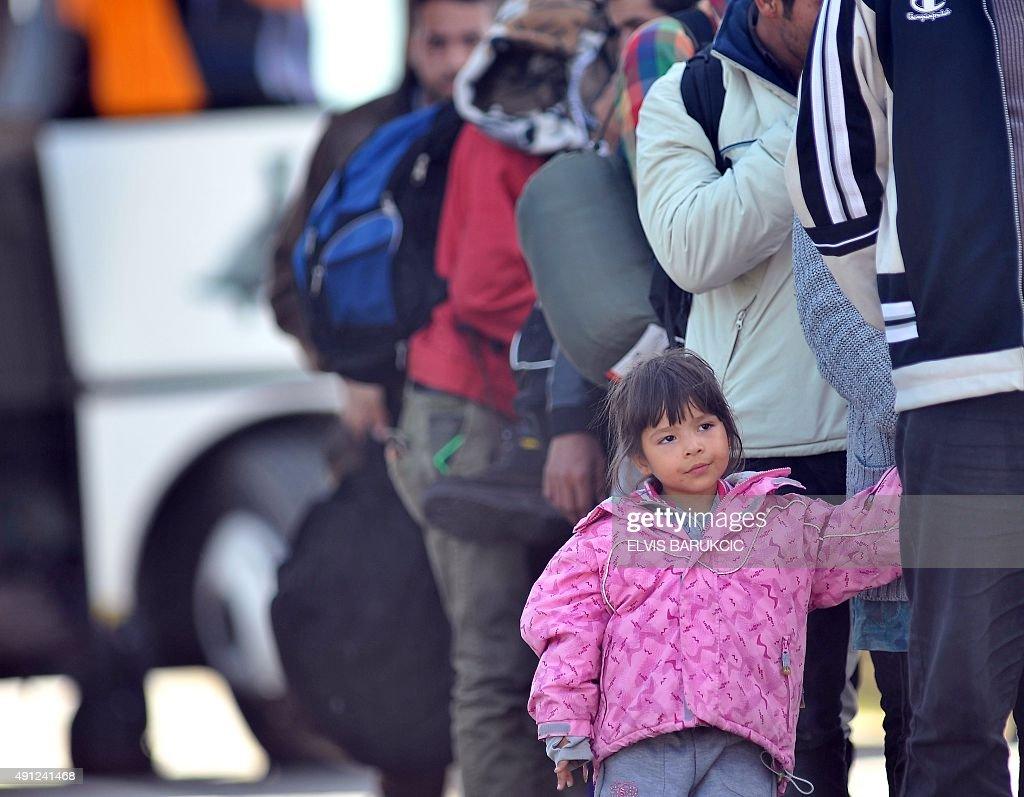 CROATIA-HUNGARY-EUROPE-MIGRANTS : News Photo