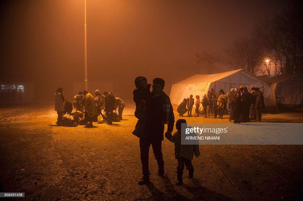 SERBIA-EUROPE-MIGRANTS : News Photo