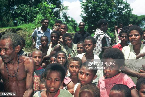 group of papua new guineians - port moresby stock pictures, royalty-free photos & images