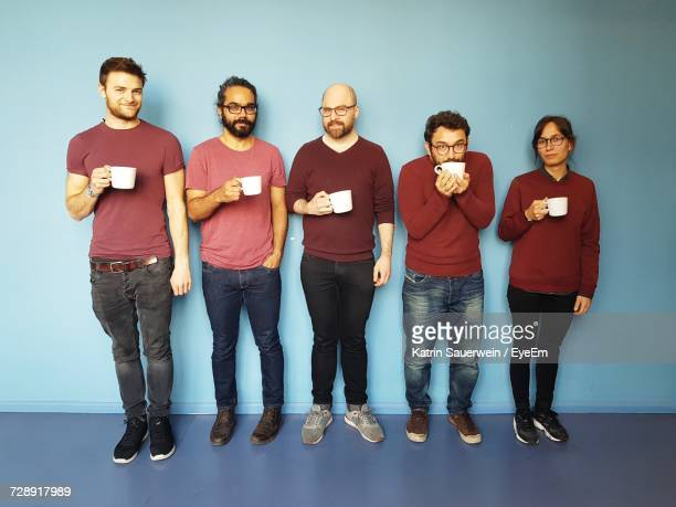 group of people against white background - repetition stock pictures, royalty-free photos & images