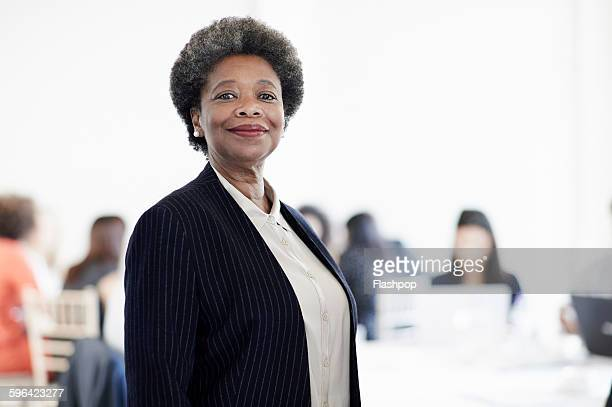 group of people at a business conference - asian 50 to 55 years old woman stock photos and pictures