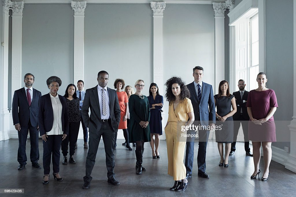 Group of people at a business conference : Stock-Foto