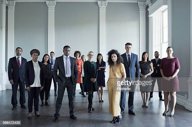 group of people at a business conference - standing photos et images de collection