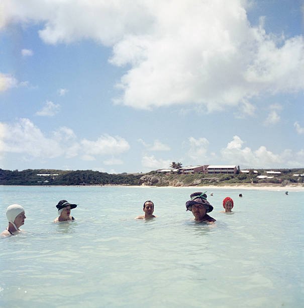 Cooling Off In Antigua